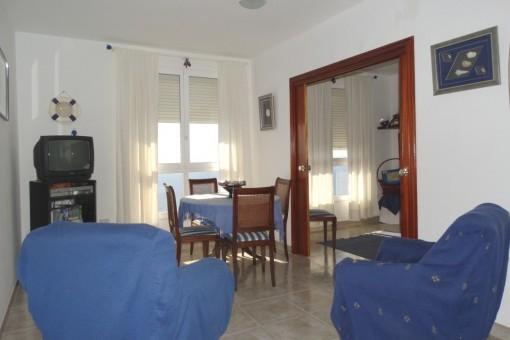 Zweites Wohn- und Esszimmer
