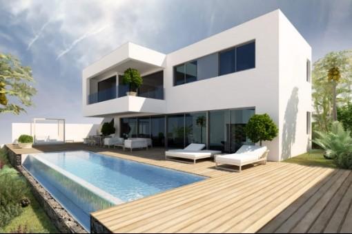 Haus mit Schwimmpool