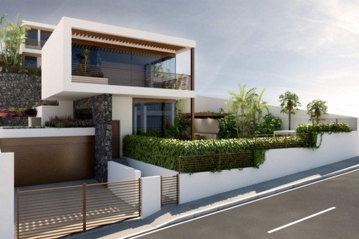 Luxusvilla mit Meerblick und Pool in Tacoronte
