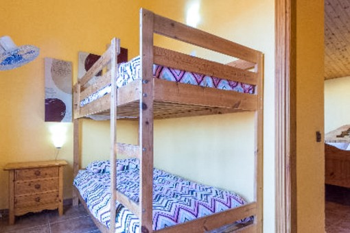 Ein weiteres Schlafzimmer mit Hochbett