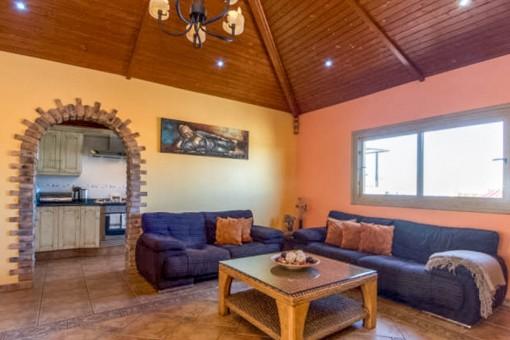 Charmante Villa mit Poolbereich in San Eugenio