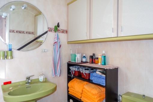 Badezimmer der Villa