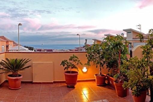 3 Schlafzimmer Villa im Kanarischen Stil mit Meerblick - leicht erweiterbar