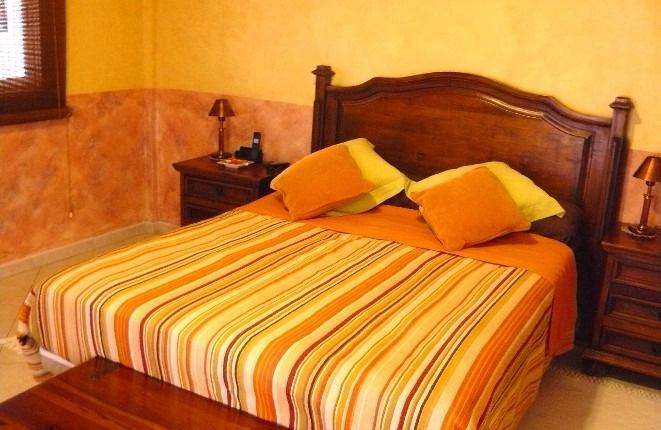 Eines der vier Schlafzimmern