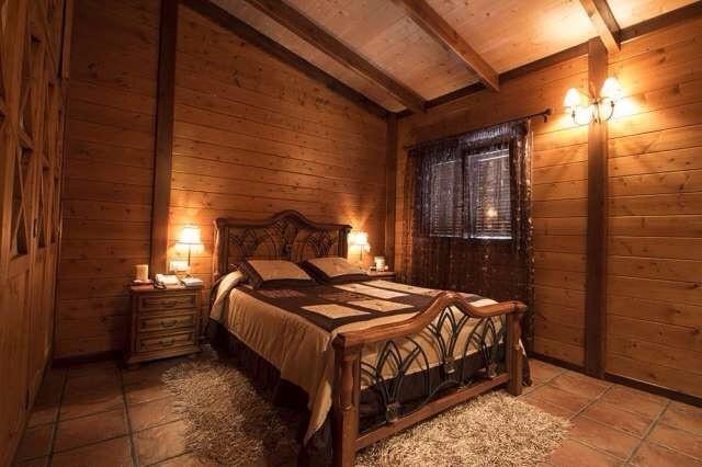 Romantische Holzvilla in La Victoria de Acentejo mit Meerblick und Blick auf den Teide