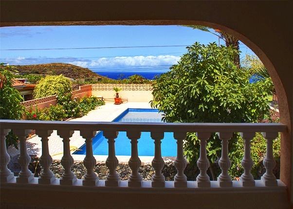 Gemütliche Villa mit atemberaubendem Blick auf den Atlantik und den Teide