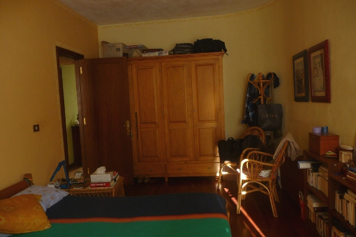 Hauptschlafzimmer mit viel Platz