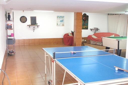 Garage ausgebaut zum Hobbyraum