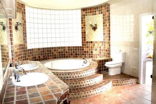 Außergewöhnlich Campo De Golf Adeje: Luxushaus Mit Jacuzzi Und Pool, Badezimmer Ideen