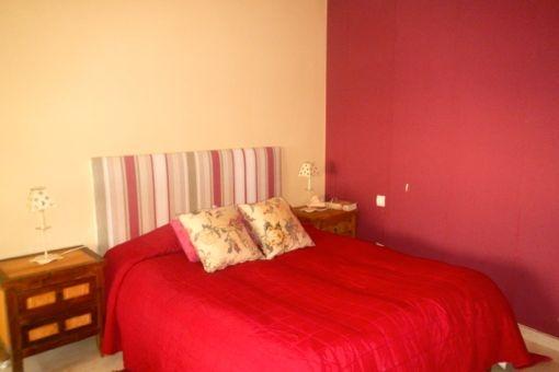 Eines der Schlafzimmer mit Badezimmer en-suite