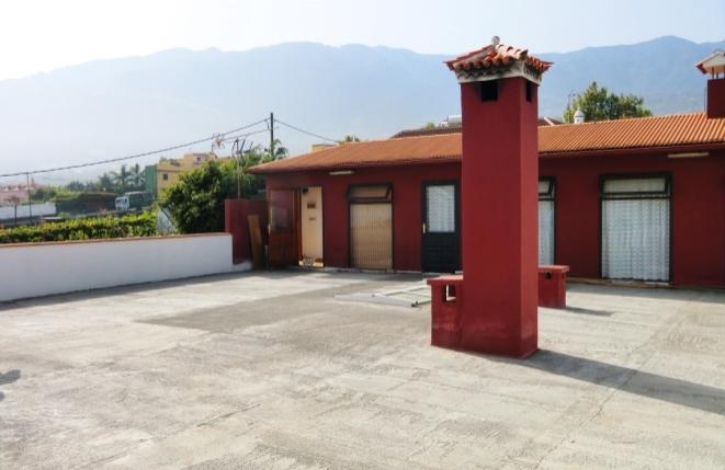 Dachterrasse mit Gästehaus