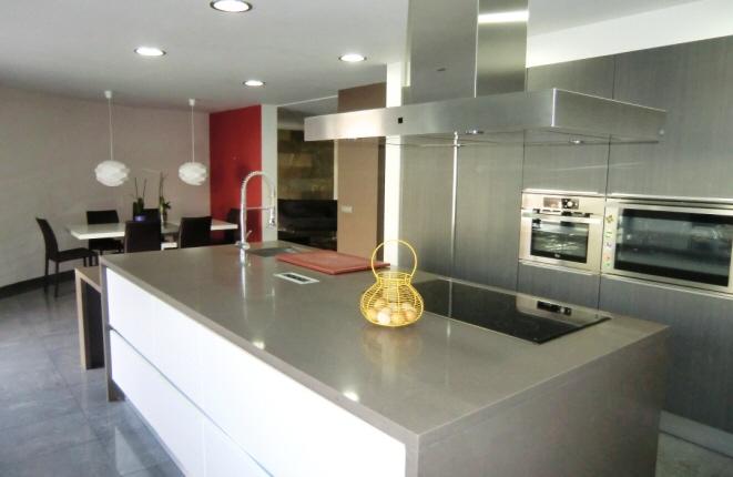 Hochwertige und moderne Küche