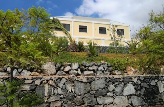 Blick auf die faszinierende Villa