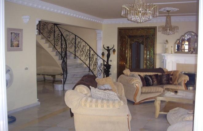 Edel ausgestattetes Wohnzimmer