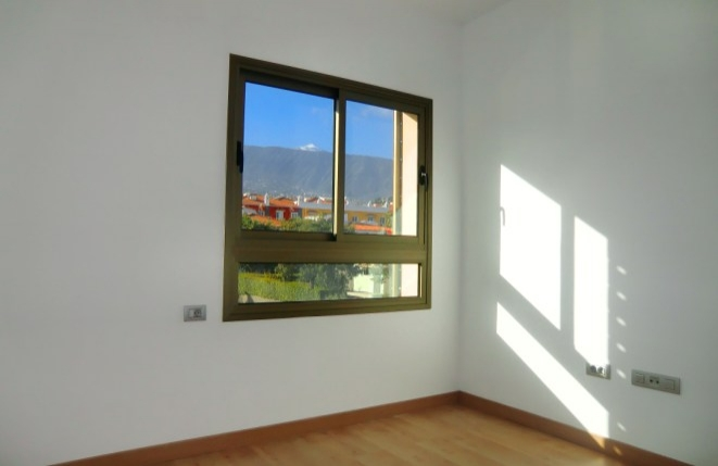 Schlafzimmer mit fantastischem Ausblick auf den Teide