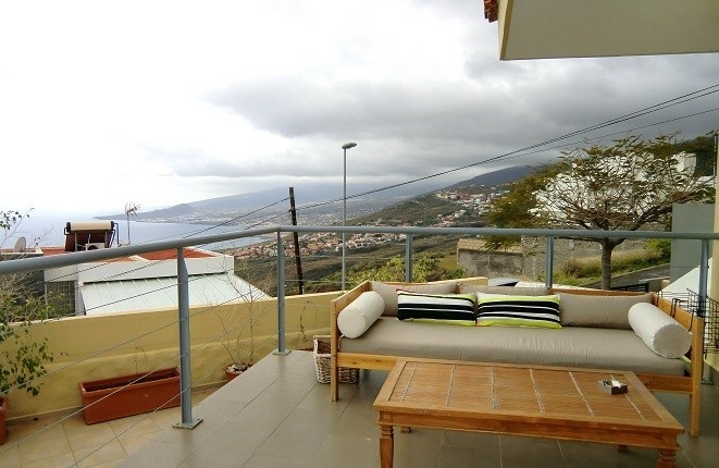 Tabaiba: Schönes Haus mit herrlichem Blick auf das Meer.