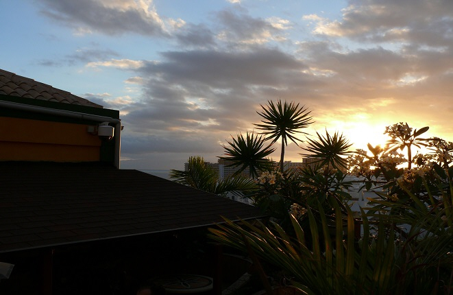 Meerblick von der Villa aus