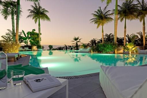 Neue Luxusvilla mit spektakulärem Meerblick, 2 Schlafzimmern in einem exklusiven Resort in Guia de Isora