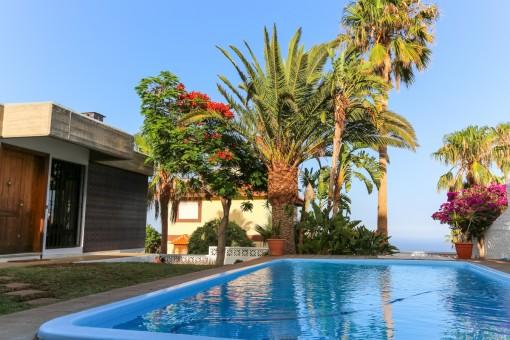 Familienhaus mit grandioser Aussicht in ruhiger und malerischer Umgebung auf Teneriffa, Candelaria
