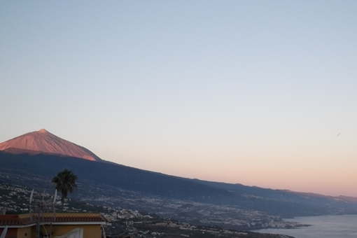 Der beeindruckende Blick auf Teide und Atlantik
