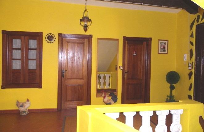 Korridor vor den Zimmern