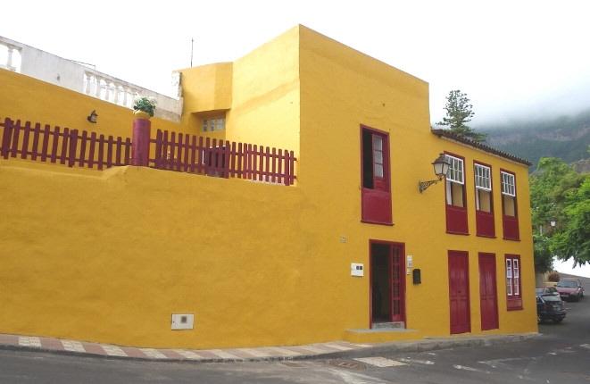 Harmonisches Kanarisches Haus mit Meerblick und drei Schlafzimmern in Bestzustand