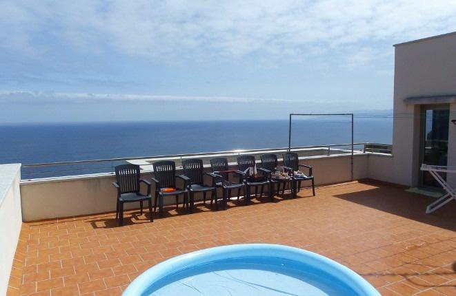 Dachterrasse mit Bad für romantische Stunden und Events