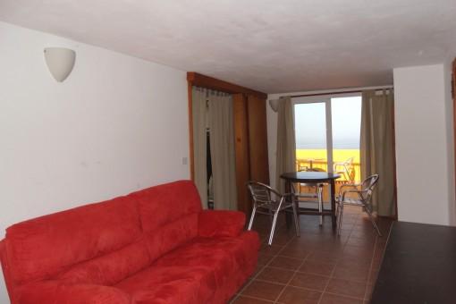 Ein weiteres Zimmer mit der Terrasse
