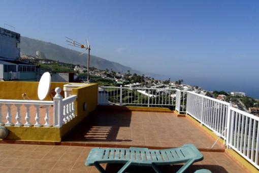 Atemberaubender Ausblick aus der Terrasse