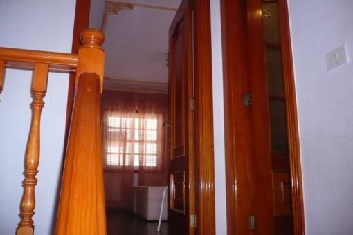 Schöner Eingangsbereich des Hauses