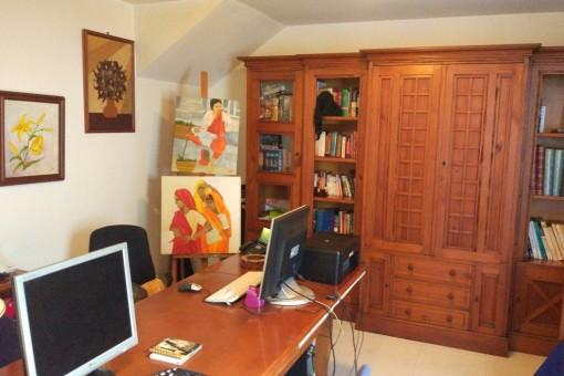 Büro mit Möglichkeit zur Umwandlung in ein separates Studio