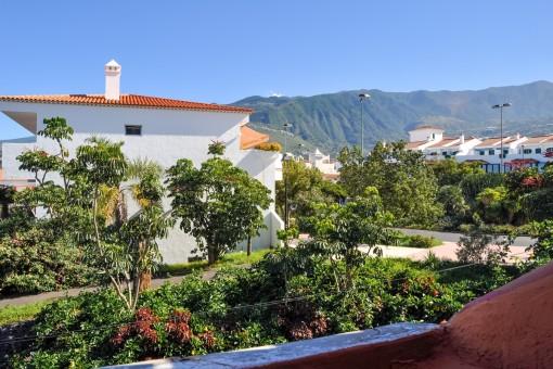 Kanarisches Reihenhaus mit 2 Terrassen, Garten und Garage in Puerto de la Cruz, La Paz