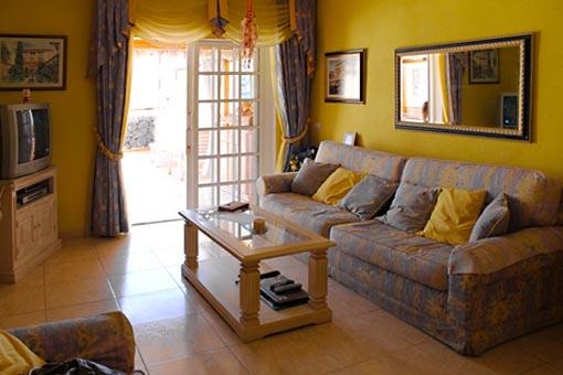 Elegant designter Wohnraum