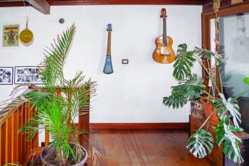 Galerie mit Terrassenzugang