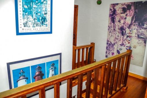 Ansicht des Obergeschosses