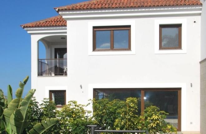 Hochmoderne Doppelhaushälfte mit Teide- und Meerblick