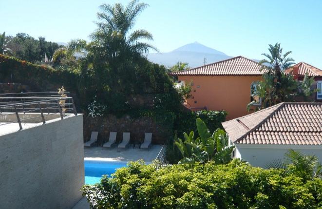 Terrasse mit Blick auf den Teide