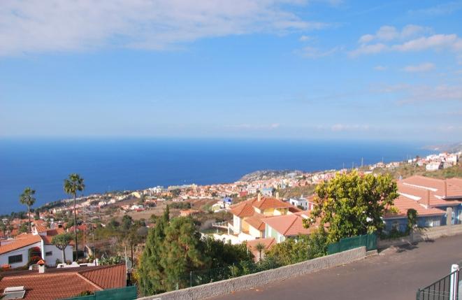 Panoramablick auf den Atlantischen Ozean