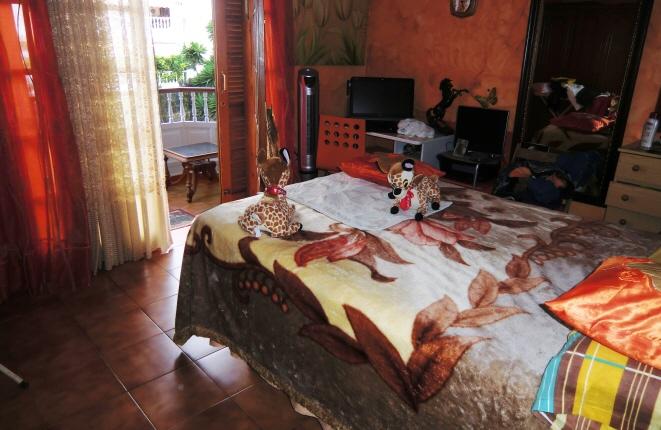 Hauptschlafzimmer mit privatem Balkon