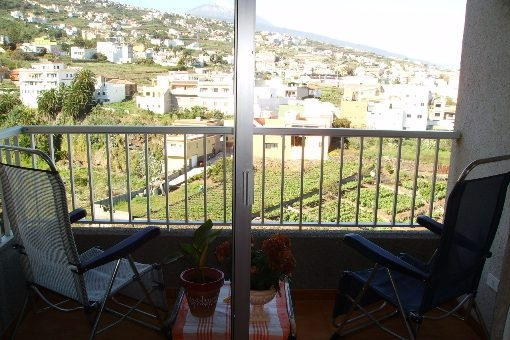 Apartment in La Victoria mit Teide und Meerblick