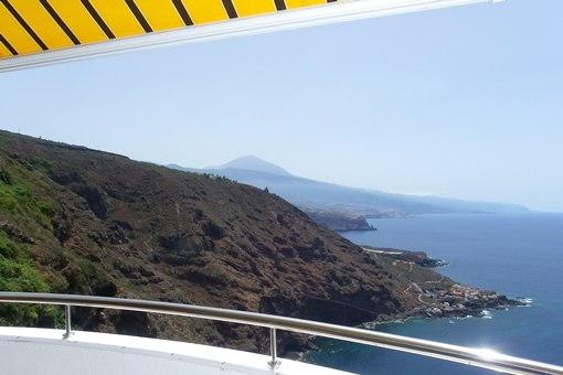 Wohnung in Puntillo del Sol mit fantastischem Meer- und Teideblick