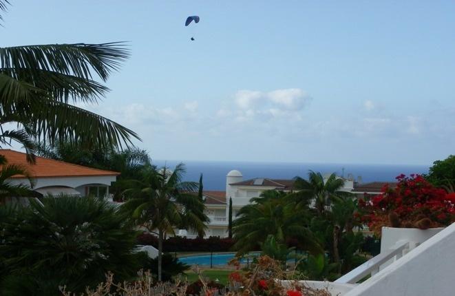 Exuberant garden with Atlantic Ocean views