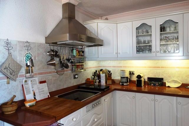 Die einladende, helle Küche