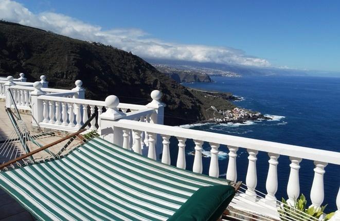 Einer der schönsten Ausblicke Teneriffas, auch aus der Hängematte