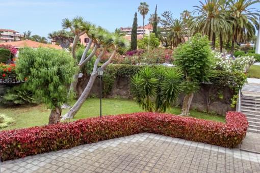 Große Wohnung mit schöner Ausstattung in gesuchter Lage von Puerto de la Cruz