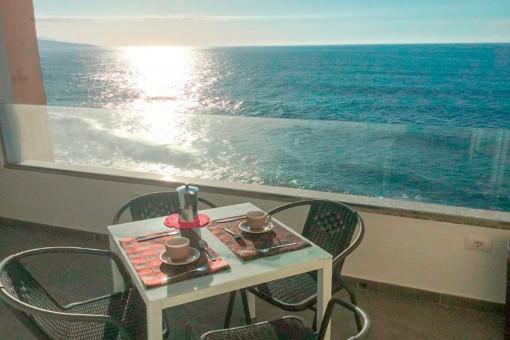 Renovierts Apartment in Puerto de la Cruz mit Terrasse und Meerblick, nahe der Playa Jardín