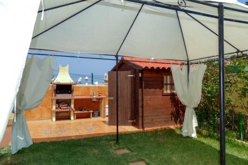 Wohnung mit 3 Schlafzimmern, großem Gartem und Garage nahe Puerto de la Cruz