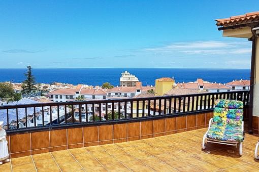 Hochwertiges Penthouse mit Pool, großer Terrasse und wunderschönem Teide- und Meerblick in La Paz