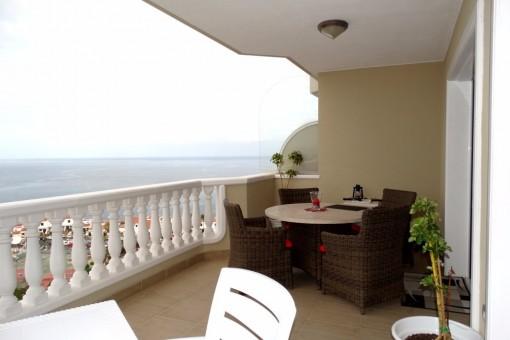 Eine weitere Terrasse / Balkon