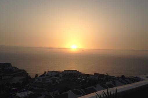 Erstaunliche Sonnenuntergänge